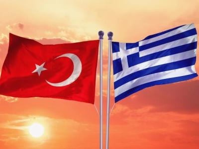 Turkey and Greece Flags @ www.bwriteside.com