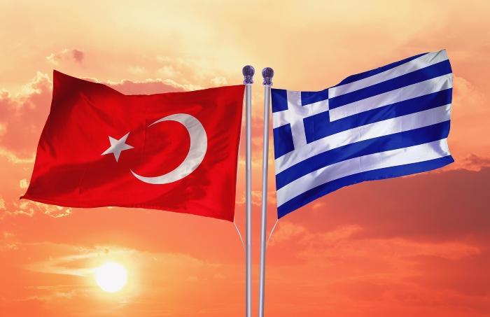 Turkey and Greece Flags @ www.bwriteside.com